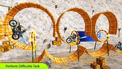 Tricky Bike Stunt Master Crazy Stuntman Bike Rider 1.0 screenshots 9