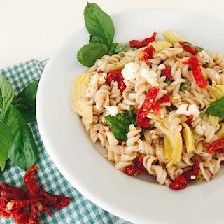 Sun-Dried Tomato & Feta Pasta Salad Recipe