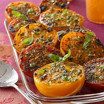 Roasted Tomatoes with Garlic and Herbs