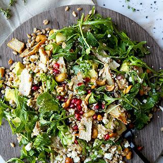 Bountiful 8 Layer Farro Salad