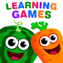 FUNNY FOOD 2! Educational Games for Kids Toddlers! icon