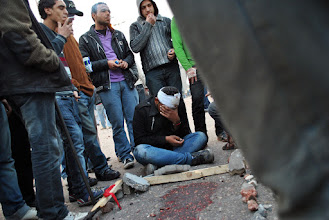 Photo: How much more blood must be shed for Egypt to be free?