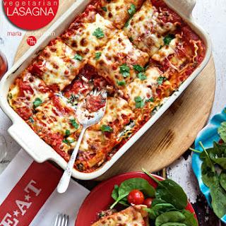 Family Favorite! Vegetarian Lasagna.