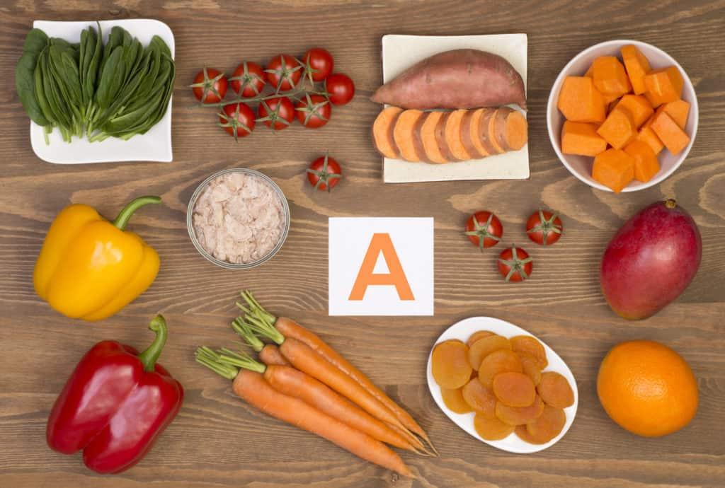Vitamin A giúp chống lão hóa