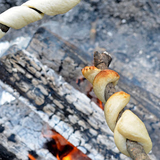 Campfire Breadsticks.