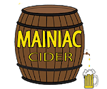 Logo of Ricker's Hard Cider Mainiac Maple
