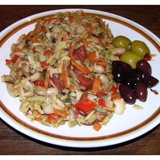 Greek-Style Cannellini and Vegetables