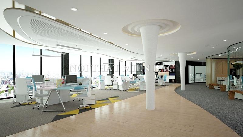 Không gian thiết kế nội thất văn phòng