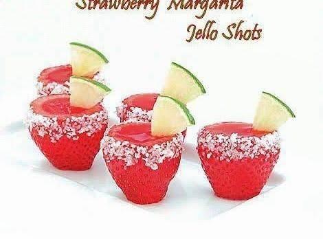 Strawberry Margarite Jello Shots Recipe
