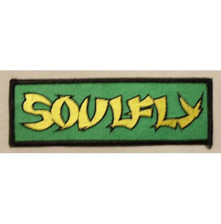 Soulfly - Logo - Tygmärke