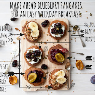 Make Ahead Blueberry Pancakes For An Easy Weekday Breakfast.