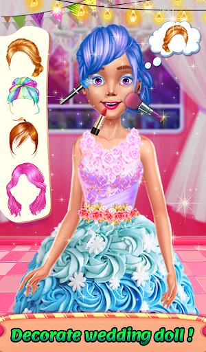 Wedding Doll Cake Decorating 3.3 screenshots 12