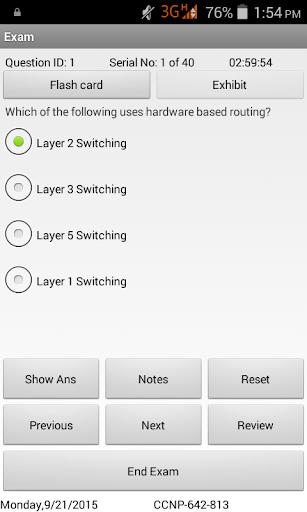 CCNP Switch Exam Simulator