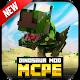 Dinosaurier-Mods für MCPE.