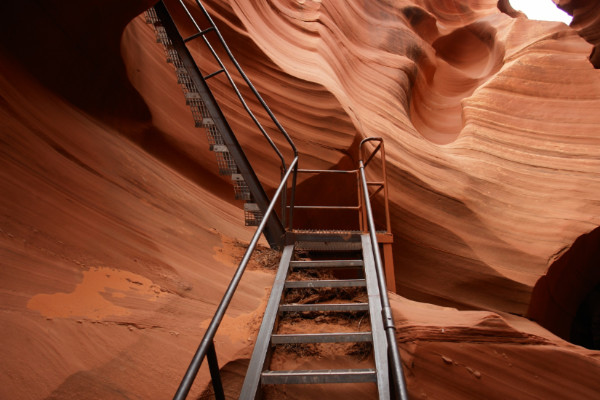 Antelope Canyon Stairs