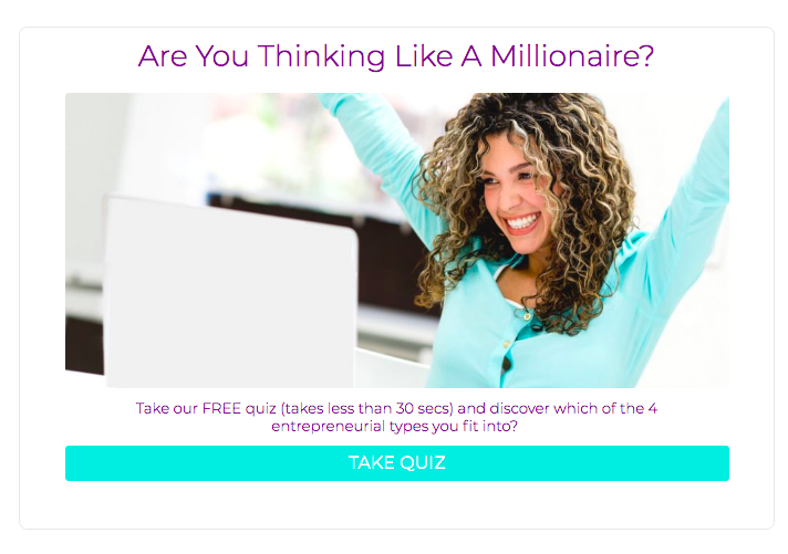 are you thinking like a millionaire quiz cover