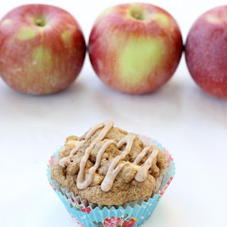 Whole Wheat Pancake Mix Apple Muffins