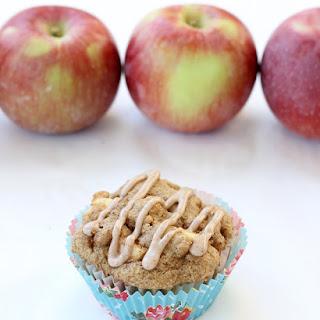 Whole Wheat Pancake Mix Apple Muffins.