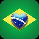 Brazil Social - Brazilian Singles Flirt, Date App icon