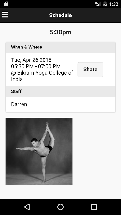 Bikram Yoga Darlinghurst- screenshot