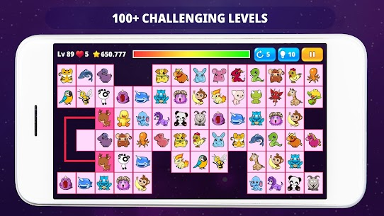 OnetM Puzzle – Connect animal 4