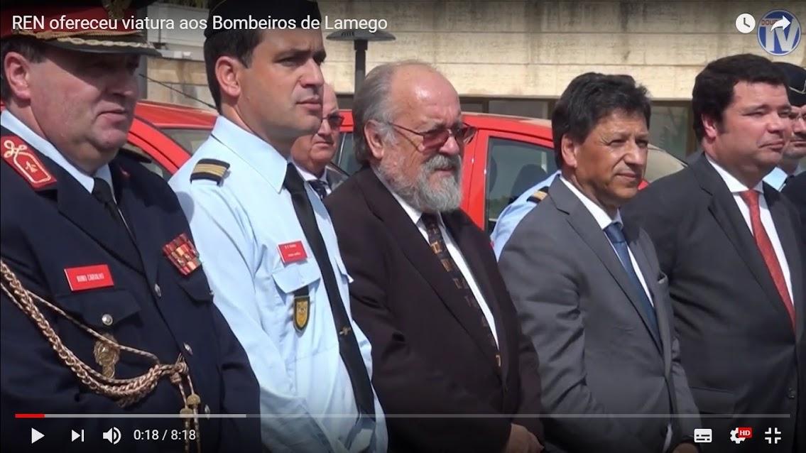Vídeo - REN ofereceu viatura aos Bombeiros de Lamego