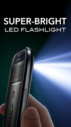 Super-Bright LED Flashlight screenshot 1