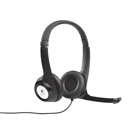 Headset hörlurar Logitech H390