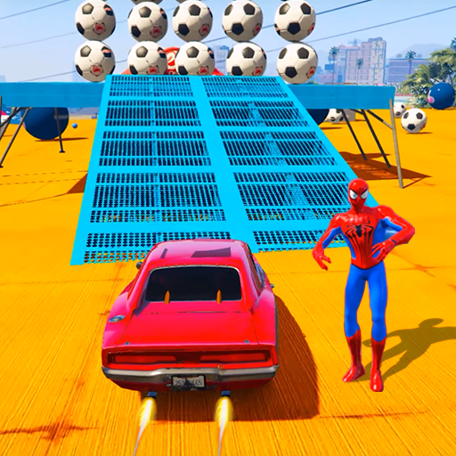 Superheroes Sports Car Chaser: Real Turbo Racing