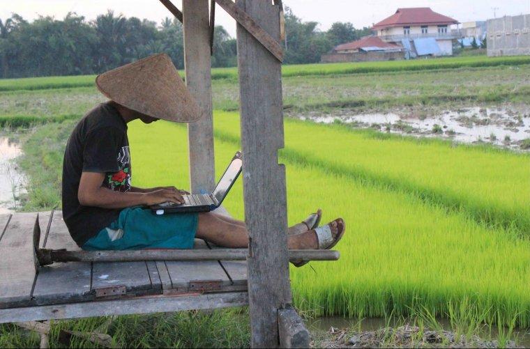 Buka usaha di desa