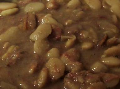 For directions to pre-soak beans,for this recipe please  go to:   http://WWW.ochef.com/662.htmThe...
