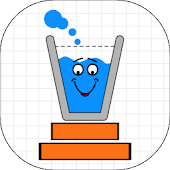 Make Happy Glass : Don't spill the water! icon