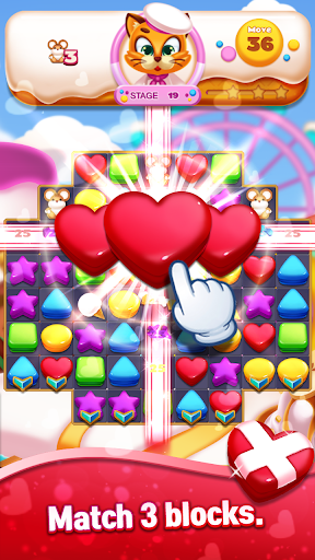 Sweet Cookie World : Match 3 Puzzle screenshots 19