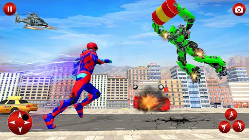 Superhero Robot Speed Hero apkpoly screenshots 10