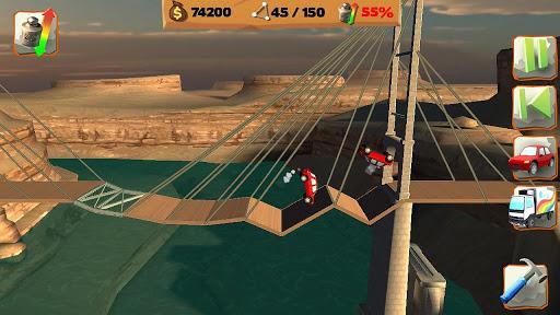 Bridge Constructor Playground FREE apkpoly screenshots 4