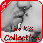 Live Kiss Gif Collection Icon