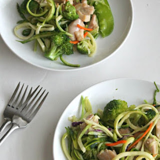 """Chicken Zoodle """"Lo Mein"""" Recipe"""
