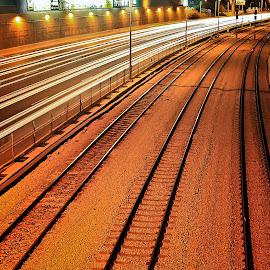 telaviv by Catalino Adolfo   Jr. - Transportation Railway Tracks ( transportation, railway tracks )