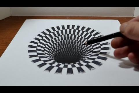 How to Draw 3D and Illusions- screenshot