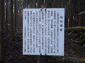 桜地蔵尊の説明