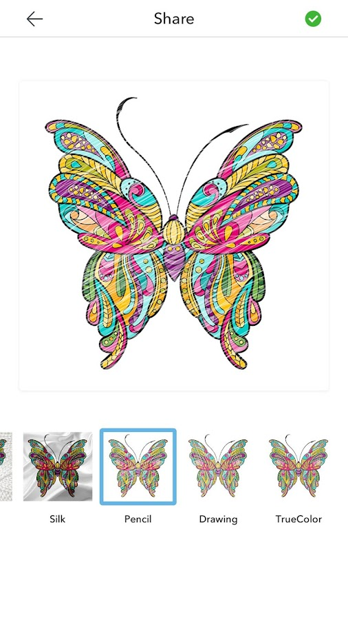 Adult Butterfly Coloring Pages- screenshot