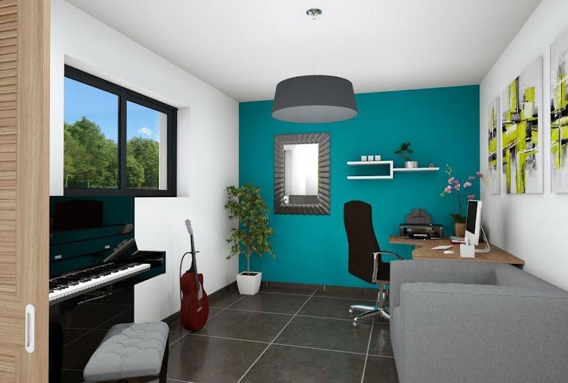 Vente Terrain + Maison - Terrain : 365m² - Maison : 142m² à Saint-Herblon (44150)