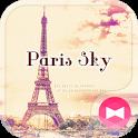 Eiffel Tower Theme-Paris sky- icon