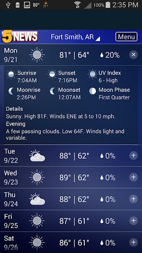 5 News Weather 4.7.1601 screenshots 2
