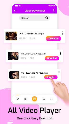 Free HD Video Downloader screenshot 1