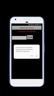 Bluetooth Terminal - náhled