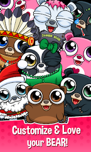 Game Happy Bear - Virtual Pet Game APK for Windows Phone