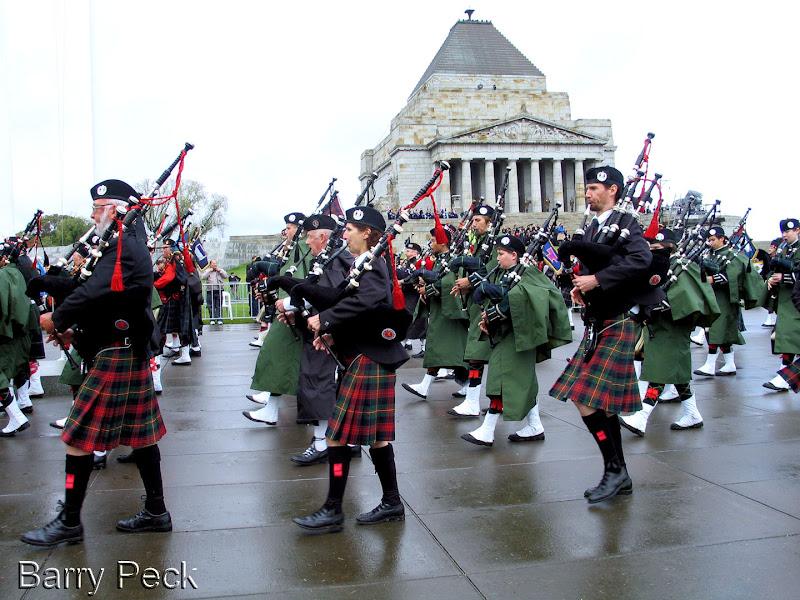 Photo: Anzac Day Shrine of Remembrance Melbourne