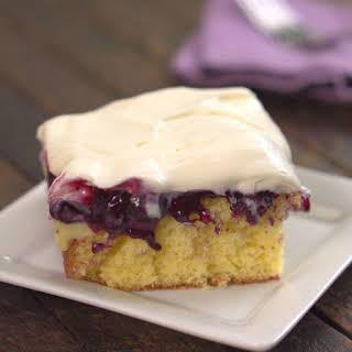 Blueberry Lemon Pudding Cake.
