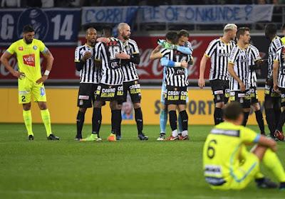 Gand prend des mesures suite au revers contre Charleroi